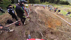 Leogang World Champs Slip n' Slide Finally Opens for Business But Minnaar Makes it Look Too Easy