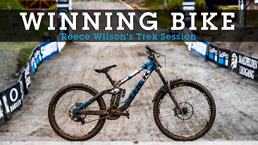 WINNING BIKE: Reece Wilson's Trek Session from World Champs