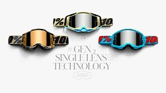 100% Introduces the Racecraft2, Accuri2 and Strata2 Goggles