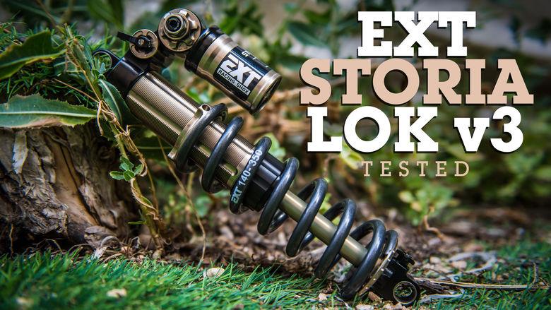 Made-to-Measure Enduro Coil Shock - EXT Storia Lok V3 Review