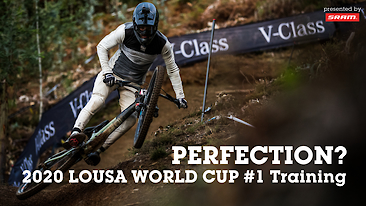 PERFECTION? Lousa World Cup Downhill Training