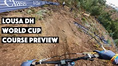 Hop Onboard with Tracey Hannah as She Previews the Track at Her Last World Cup