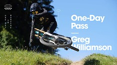 Greg Williamson Makes the Most of His One Day Pass in Morzine