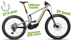 NEW Santa Cruz HECKLER MX and EP8 V8 e-MTB