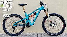 Bike of the Day: Yeti SB165 Turq