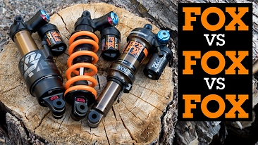 FOX DHX2 Coil, Float X2 and Float DPX2 Shock Comparison