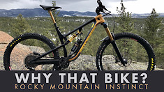 Why That Bike? | Rocky Mountain Instinct