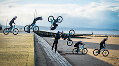 Trials by the Seaside - Danny MacAskill and Duncan Shaw Take Drop & Roll Outside
