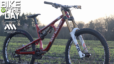 "Bike of the Day: Rocky Mountain Slayer ""DH"""