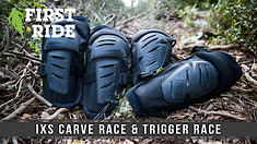Soft-Shell with Hard Caps: iXS Trigger Race and Carve Race Knee Guards