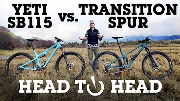 Head to Head: Transition Spur vs. Yeti SB115 Bike Review