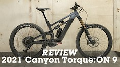 REVIEW: 2021 Canyon Torque:ON 9 eMTB
