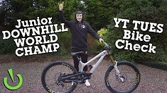 Oisin O'Callaghan's YT TUES - Junior World Champ Bike Check