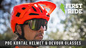 POC Introduces the All-New Kortal Half-Shell Helmet and Devour Riding Glasses
