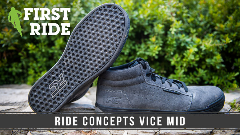 First Ride: Ride Concepts Vice Mid Flat Pedal Shoe