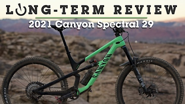 2021 Canyon Spectral 29 CF8 Long-Term Review