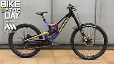 Bike of the Day: Santa Cruz V10 MX