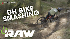 Downhill Bikes Going Smash! Vital RAW with Joel Anderson and Toby Down