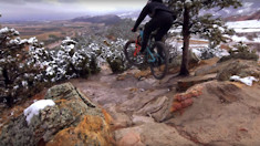 Smash Rocks, Talk Cushcore with the Yeti Team in Colorado