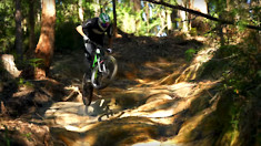 What Foot-Deep Rain Ruts? Jack Moir Going Flat Out