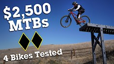 $2,500 Full-Suspension MTB Comparison Test