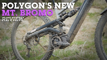 Enter the Plow King - Polygon's Crazy Six-Bar Mt Bromo eMTB Review