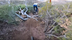 Burning in a New Enduro Training Track with Spencer Rathkamp