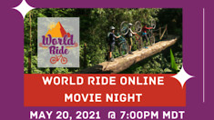 World Ride Online Movie Night to Support Program for Women Mountain Bikers in Botswana