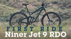 First Ride - 2021 Niner JET 9 RDO