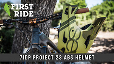 Lightweight and Ventilated: 7iDP Project 23 ABS Helmet First Ride