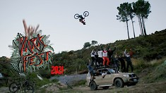 Massive Double Backflips, a World Record 100ft Frontflip and Style for Miles - DarkFEST 2021