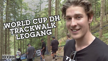 Leogang World Cup DH - Track Walk