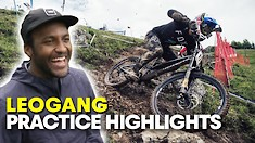 'Have You Not Seen Those Woods!?' | Downhill Practice Highlights with Eliot Jackson in Leogang