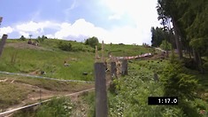 Winning Runs From the Leogang DH World Cup