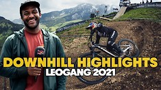 'One of the Best DH Races I've Ever Seen' | Downhill World Cup Highlights from Leogang