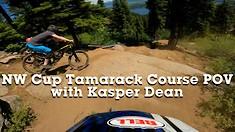 #USDH - NW CUP Tamarack DH Course POV with Kasper Dean