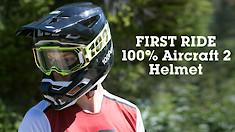 First Ride - 100% New Aircraft 2 Full Face Helmet