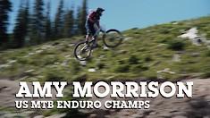 US National MTB Enduro Championships - Amy Morrison Shredding!