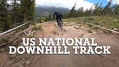 US National Champs Downhill Track with Austin and Dillon
