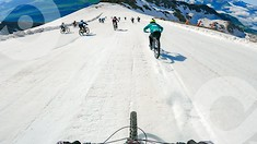 100 km/h Glacier Mass Start and 1 Hour of Rowdy DH - Megavalanche Onboard Experience