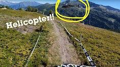 Chopper-Attack Jack? Moir Wins EWS Stage 2 La Thuile Despite Helicopter in His Face