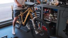 Brendog on an e-DH Bike