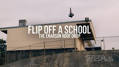Cam Zink Unpacks the Process and Challenges of Flat-Flipping the Enarson Roof Drop for X Games Real MTB
