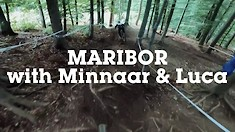 Minnaar and Luca - iXS Downhill Cup Maribor Course Preview