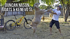Duncan Nason, Goats and a Specialized Kenevo SL
