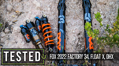 Trail Bike Suspension Excellence: 2022 FOX 34, Float X, DHX Review