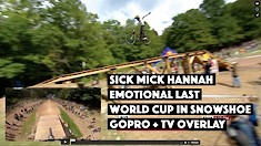 Get the Goosebumps with Mick Hannah's Final Run from Snowshoe  - GoPro + TV Feed Overlay