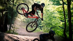Bike Park Session on Enduro Bikes with Freeriders Ethan Nell and Dylan Stark