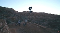 First Practice Hits at Red Bull Rampage 2021