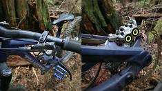 Mountain Bike Brake Dream Team? Check Out Steve Wentz's Shimano/SRAM/Magura Combo